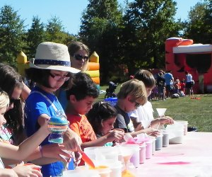 The Hopewell Harvest Fair features arts & crafts and lots of other fun for kids. Photo courtesy of the fair