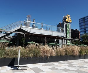 City Vineyard sits at the edge of Pier 26