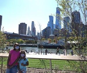 Hudson River Park's Pier 26 offers Lower Manhattan views