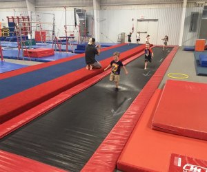 Kid's Indoor Birthday Parties in Houston: Host a gym party