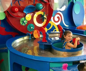 Totally Tot's at Brooklyn Children's Museum indoor places to beat summer's heat