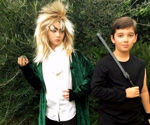 Kids' Halloween Costume Ideas: Jareth the Goblin King and Hawkeye