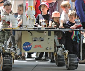 JPL's Open House. Photo courtesy of NASA's Jet Propulsion Lab