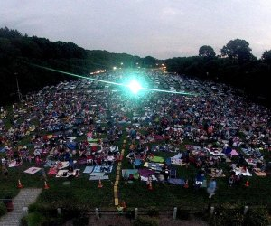 Catch some favorite family-friendly movies at Screening Under the Stars  in Valhalla this summer. Photo courtesy of the event