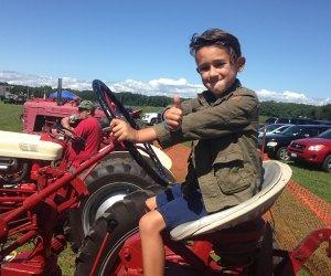 Experience life as an East End farmer at the Long Island Fiber and Fleece Fair at Hallockville Museum Farm. Photo by Jaime Sumersille