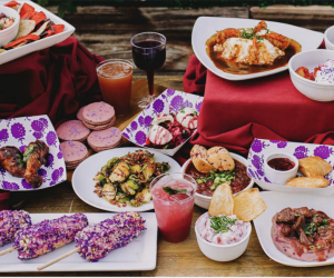 LA Restaurants with Outdoor Seating for Kids: Knott's Berry Festival Dining