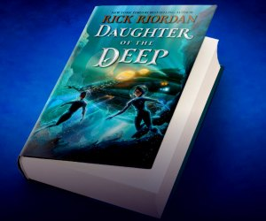 Rick Riordan's new book is based on 20,000 Leagues Under the Sea.