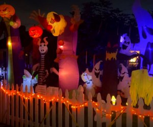 Home Haunts and Amazing Halloween Decorations in Los Angeles: Holiday House