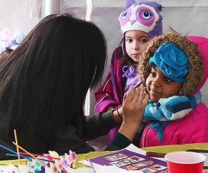 Stop by Family Day at State Theatre New Jersey on February 18 for face painting and other free fun. Photo courtesy of the theater