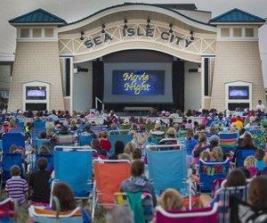 Sea Isle City's Movies Under the Stars runs Fridays nights in Excursion Park. Photo courtesy of the venue