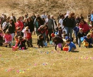 Heaven Hill Farm Easter Egg Hunt. Photo courtesy of the farm