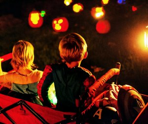 Take in the spooky and stunning sights at Night of 1,000 Jack O'Lanterns this weekend. Photo courtesy of the event