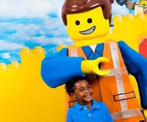 Head to Legoland for Lego Movie Days!  Photo courtesy of Lego