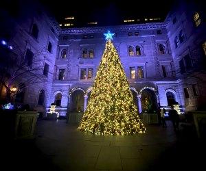 Lotte New York Palace Christmas Tree
