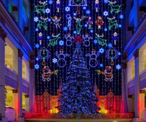 Photo of Macy's Christmas Light Show by J. Fusco courtesy of Visit Philadelphia