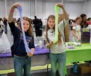 Make something slimy! Photo courtesy of Maddie Rae's Slime Bash