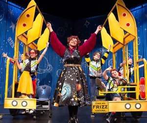 The Magic School Bus makes a stop at Paper Mill Playhouse this weekend. Photo courtesy of Theatreworks USA