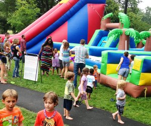 In addition to great live music, Maplewoodstock has plenty to keep the kids entertained. Photo courtesy of the festival