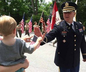 Cheer on local heroes at South Salem's Memorial Day Parade. Courtesy of the event