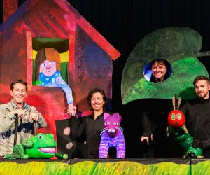 Mermaid Theatre of Nova Scotia brings The Very Hungry Caterpillar to life at the Count Basie Center for the Arts in January. Photo courtesy of the company