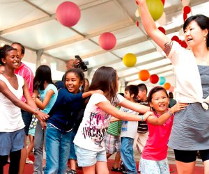 Millennium Park Family Fun Festival offers arts and crafts, music, educational activities and more for kids of all ages. Photo courtesy of Millennium Park
