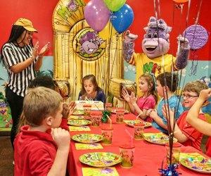 Kid's Indoor Birthday Parties in Houston: Monkey Joe's