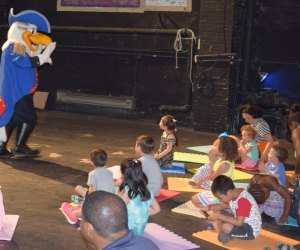 Bring the kids to The National Theatre to enjoy story time on Saturdays. Photo courtesy of The National Theatre