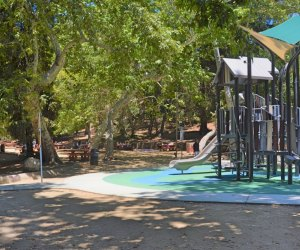 The playground at Ferndell in Griffith Park