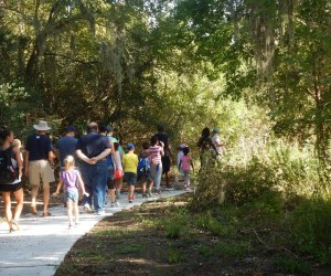 Spend Sunday in nature doing crafts and activities at Clear Creek Nature Center. Photo courtesy of the City of League City.