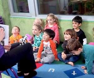 New York Preschool aims to help kids develop self-confidence and communication skills. Photo courtesy of the school
