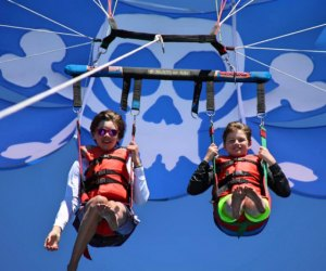 Things To Do with Kids in Lake Tahoe: Parasail