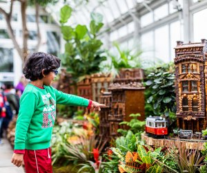 The train show at the New York Botanical Garden is a must-see that runs through January 21.