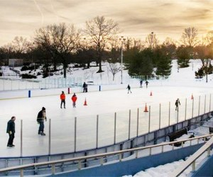 Glide across Christopher Morely Ice Rink during the holiday break