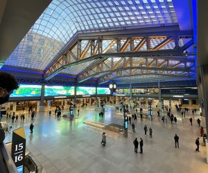 2021 started with the debut of the Moynihan Train Hall
