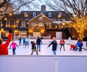 Palmer Square Ice skating kids ice skating  Inexpensive Winter Weekend Getaways for NYC-Area Families