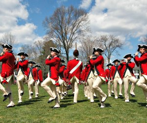 The U. S. Army Old Guard Fife and Drum performs at Lexington Green. Photo by SFC Richard Ruddle/CC BY 2.0