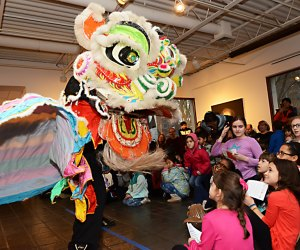 Come celebrate the Year of the Pig!  Chinese New Year returns to Pelham Art Center with free, family-friendly activities. Photo courtesy of the center