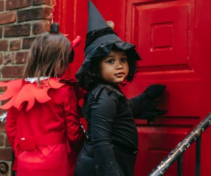 Kids' Halloween Costume Ideas: Cute little witch
