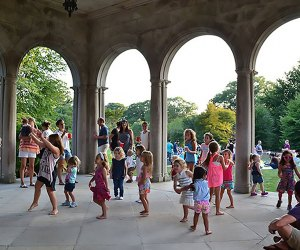 The free outdoor summer concert series at Planting Fields Arboretum is sure to get everyone singing and dancing. Photo courtesy of the arboretum