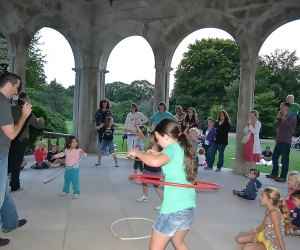 Outdoor fun awaits at Planting Fields Arboretum's Summer Garden Festival. Photo courtesy of the venue
