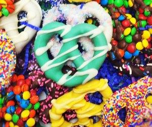 candies pretzels