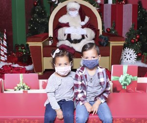 Enjoy a contact-free Santa visit at the Queens Center Mall