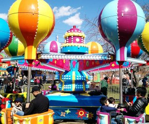 The Carnival at Queens County Farms is always a big hit! Photo courtesy of the farm