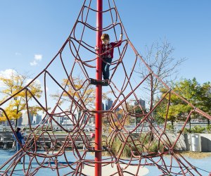 Gantry State Park is home to a pair of beautiful playgrounds