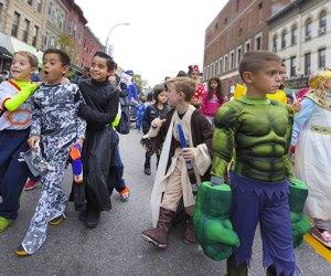 Kids march in the Brooklyn Ragamuffin parade. Photo via Bigstock