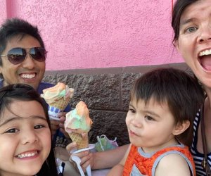 100 Things To Do in Chicago with Kids Before They Grow Up: Rainbow Cones