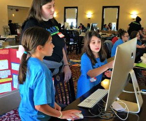 Code for a cause allows kids to connect tech with selflessness. Photo courtesy of Random Hacks of Kindness