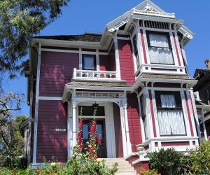 20 Things To Do in Echo Park with Kids: Carroll Avenue in Angelino Heights has the house from the TV show Charmed