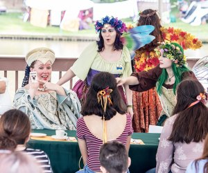 Little lords and ladies can get into character at the New Jersey Renaissance Faire. Jesse C Photography