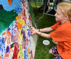 Creativity Commons at Cambridge River Festival. Photo courtesy of Cambridge Arts